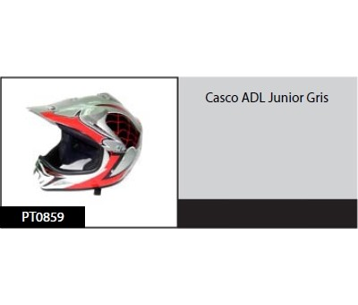 Casco ADL Junior Gris