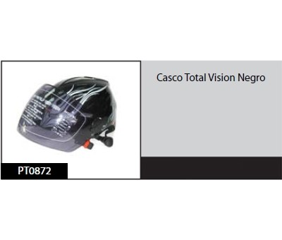Casco Total Vision Negro