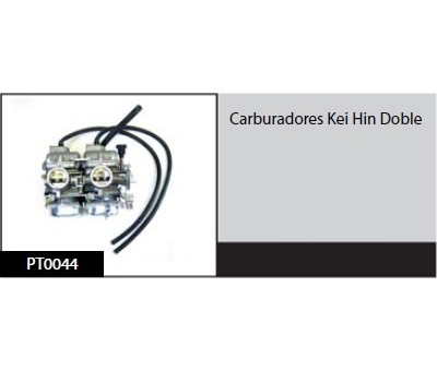 Carburadores Kei Hin Doble