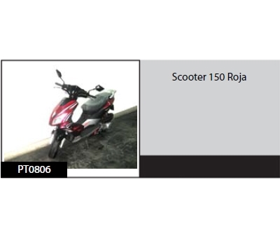 Scooter150 Roja