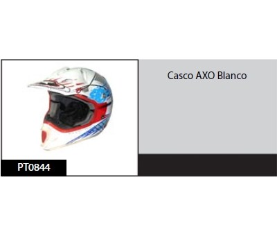 Casco AXO Blanco