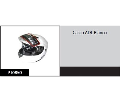 Casco ADL Blanco
