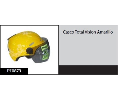 Casco Total Vision Amarillo